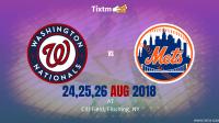 New York Mets vs. Washington Nationals at Flushing