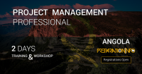 PMP 2 Days Training (PMBOK 6th edition) and Workshop - Luanda, Angola
