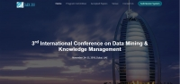 3rd International Conference on Data Mining & Knowledge Management ( Dakm 2018)