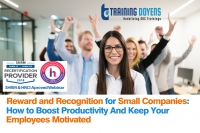 Reward and Recognition for Small Companies: How to Boost Productivity And Keep Your Employees Motivated