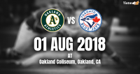 Oakland Athletics vs. Toronto Blue Jays at Oakland -Tixtm.com