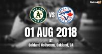 Oakland Athletics vs. Toronto Blue Jays at Oakland -Tixtm.com