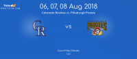 Colorado Rockies vs. Pittsburgh Pirates at Denver - Tixtm.com