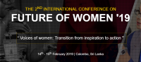 The 2nd International conference on future of women '19