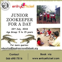 JUNIOR KEEPER FOR A DAY - 2018 | Entryeticket