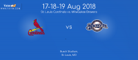 St. Louis Cardinals vs. Milwaukee Brewers at St. Louis-Tixtm.com