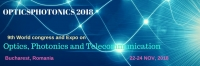9th World Congress and Expo on Optics, Photonics and Telecommunication