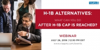 H-1B Alternatives: What Can You Do After H1B Cap Is Reached?
