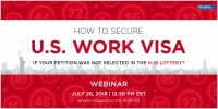 How To Secure A U.S. Work Visa If Your Petition Was Not Selected In the H-1B Lottery?