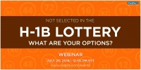 Not Selected In The H-1B Lottery: What Are Your Options?