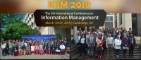 2019 The 5th International Conference on Information Management (ICIM 2019)