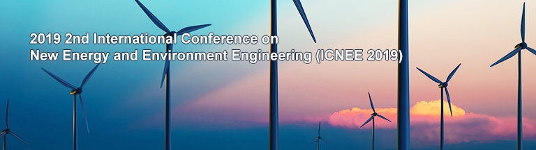 2019 2nd International Conference on New Energy and Environment Engineering (ICNEE 2019), Singapore, Central, Singapore