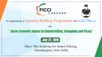 Socio-Economic Impact of Counterfeiting, Smuggling and Piracy Capacity Building Programs for Police Officers