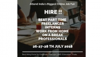 Online Job Fair For Part Timer | Freelancers | Interns