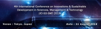 4th International Conference on Innovations & Sustainable Development in Sciences, Management & Technology (ICI-SD-SMT-2018)