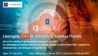 Leveraging O365 for Automating Business Process