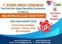 Come and Join us at 1st ICCMO India International Conference