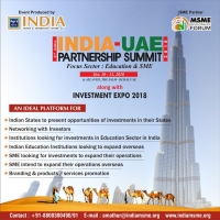 INDIA-UAE PARTNERSHIP SUMMIT-2018
