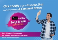 Snap & Win with CD Shirts