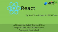 React js Free Online Demo On August 1st @ 9 AM IST