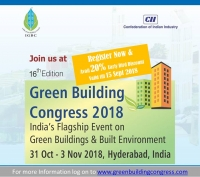16th Edition of IGBC Green Building Congress 2018