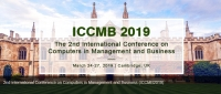 2019 2nd International Conference on Computers in Management and Business (ICCMB 2019)