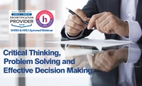 Webinar on Critical Thinking, Problem Solving and Effective Decision Making – Training Doyens