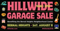 HIllwide 2018 Garage Sale