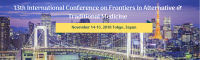 13th International Conference on  Frontiers in Alternative & Traditional Medicine