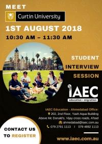 Australian Spot Admission Sessions @ IAEC Ahmedabad ! Meet Curtin University !