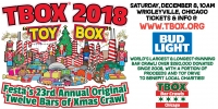 TBOX 2018, The 23rd Annual Original 12 Bars of Xmas Chicago Bar Crawl