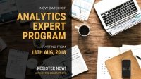 New Batch: Analytics Expert Program