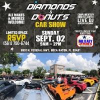 Diamonds & Donuts Car Show