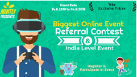 Biggest Online Event  - Referral Contest [ Marketing Challenge]