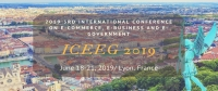 2019 3nd International Conference on E-Commerce, E-Business and E-Government (ICEEG 2019)