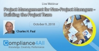 Project Management for Non-Project Managers - Building the Project Team