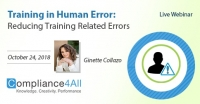 Reducing Training Related Errors (Human Error Trainings)