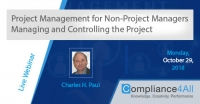 Managing and Controlling the Project - Project Management