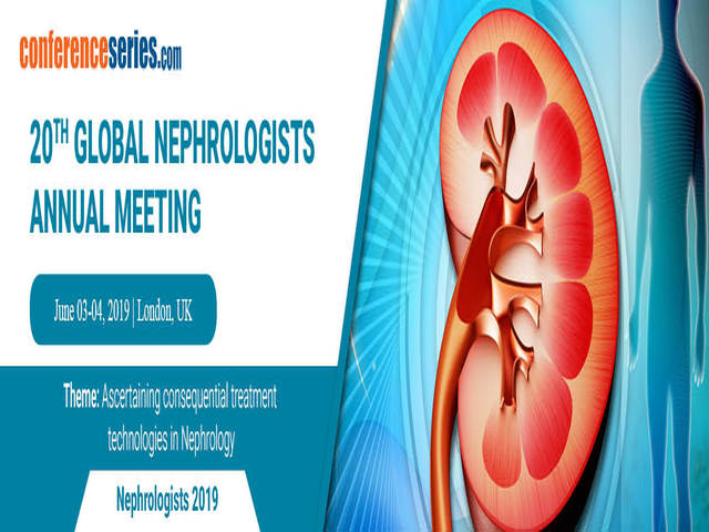 20th Global Nephrologists Annual Meeting, London, United Kingdom