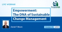 Web Conference on Empowerment: The DNA of Sustainable Change Management