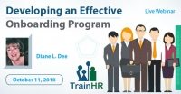 Web Conference on Developing an Effective Onboarding Program