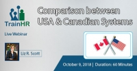 Web Conference on  Comparison between USA and Canadian Systems
