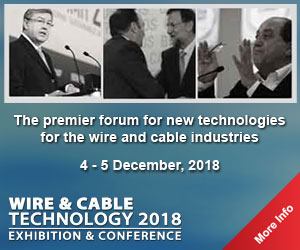 Wire & Cable Technology 2018 Exhibition & Conference, Frankfurt, Hessen, Germany