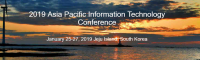 2019 Asia Pacific Information Technology Conference APIT in Jeju Island, South Korea