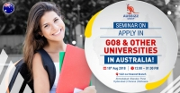 "Seminar on ""Apply in GO8 & other Universities"" in Australia"