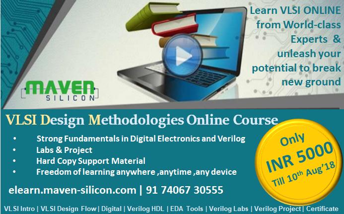 Register now for FREE hands-on session on VLSI Design using