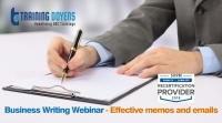 Business Writing Webinar - Effective memos and emails