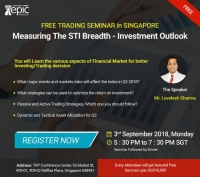 Free Trading Seminar in Singapore By Epic Research