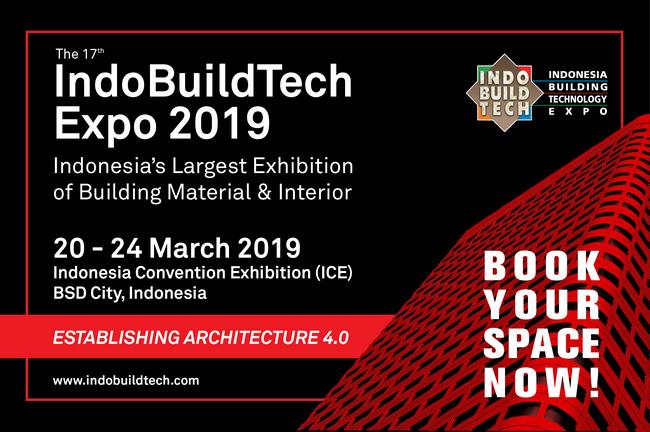 Indobuildtech 2019, BSD city, Jakarta, Indonesia