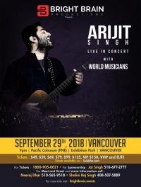 Arijit Singh Live in Concert 2018 Vancouver